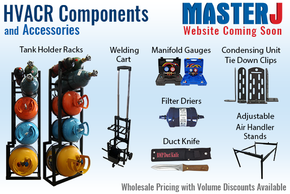 MasterJ, Inc. HVACR Components and Accessories - Website Coming Soon