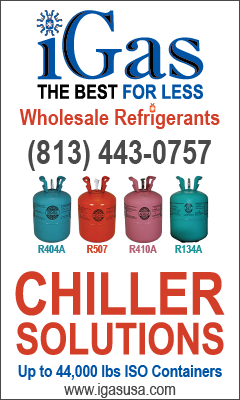 iGas Banner Ad for Chiller Solutions